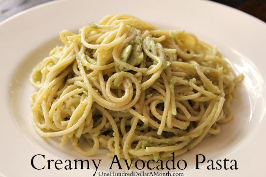 Creamy Avocado Pasta recipe
