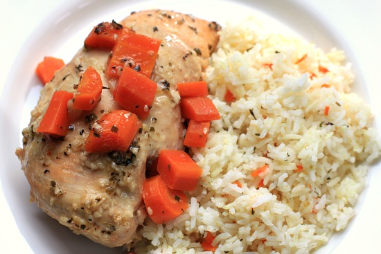 Easy Crock Pot Recipes - Asian Chicken with Ginger