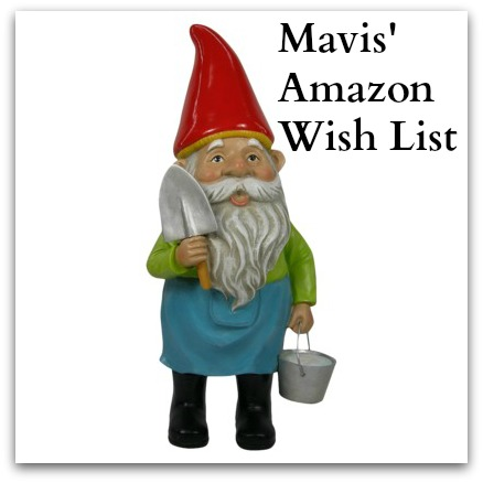 Mavis butterfield gnome St. Jude's wish list