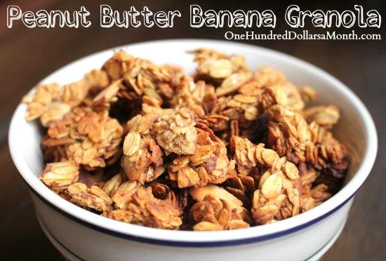 Peanut Butter Banana Granola