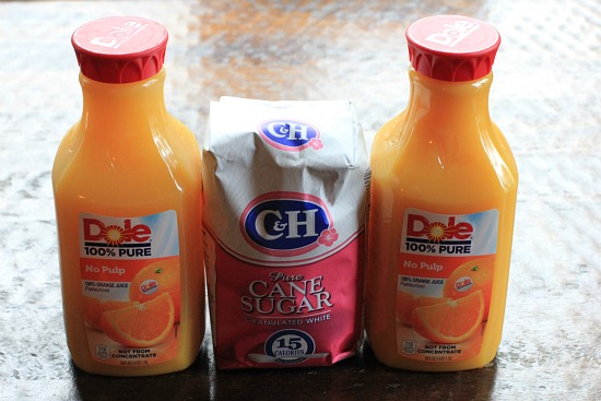 dole orange juice