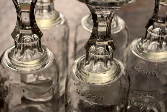 how to make redneck wine glasses DIY