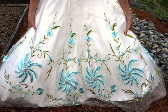 thrift store prom dress
