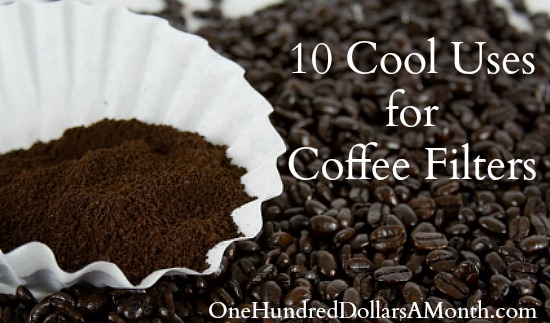 10 Cool Uses for Coffee Filters