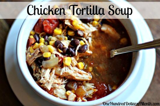 Easy-Crock-Pot-Recipes-Chicken-Tortilla-Soup