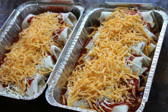 Easy Freezer Meal - Beef Enchiladas