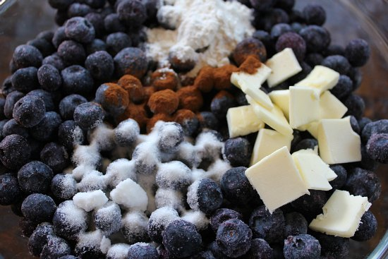 Old Fashioned Blueberry Crisp Recipe