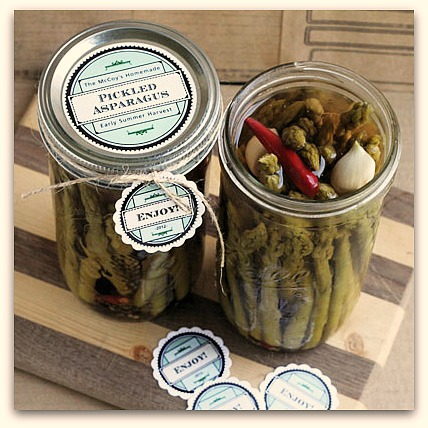 custom canning labels