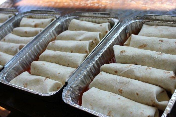 freezer Meal - Chicken Enchiladas recipes