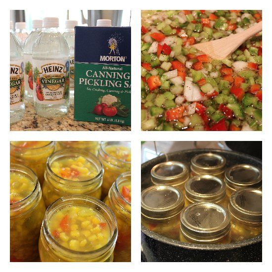 Pickled Corn Relish recipe