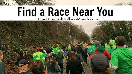 Race Finder local races