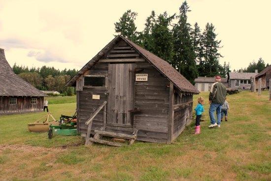 old brooder house