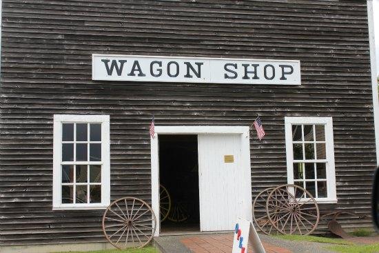 the wagon shop Steilacoom, Washington