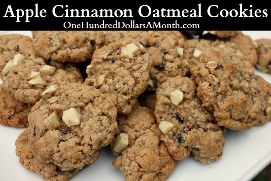Apple-Cinnamon-Oatmeal-Cookies-Recipe