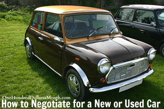 How to Negotiate for a New or Used Car
