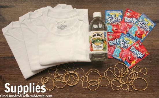 Kool Aid Tie Dyed T-Shirts