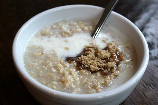 breakfast oatmeal