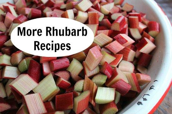 rhubarb recipes