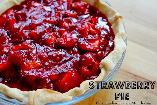strawberry-pie