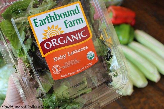 Earthbound Farm organic baby lettuce