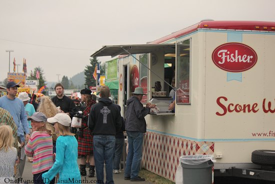 Fisher scone truck