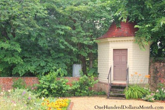 Outhouse Privy George Washington's Mount Vernon