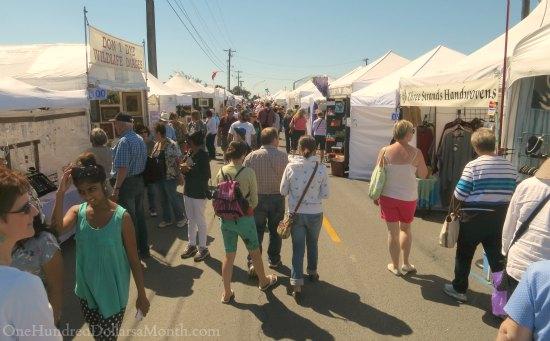 Sequim Lavender Festival Street Fair