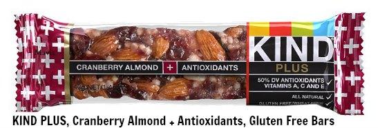 cranberry almond kind bars