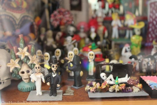 day of the dead figurines