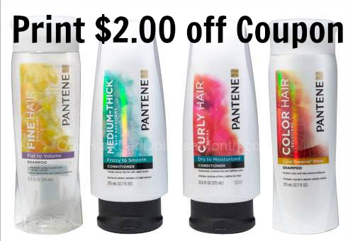 pantene shampoo coupon