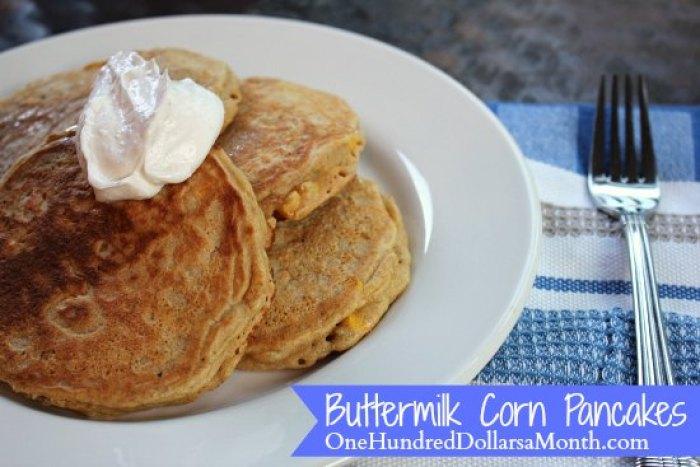 Buttermilk Corn Pancakes