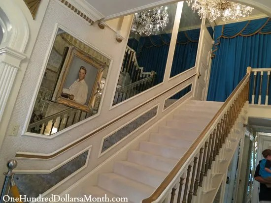graceland staircase pictures