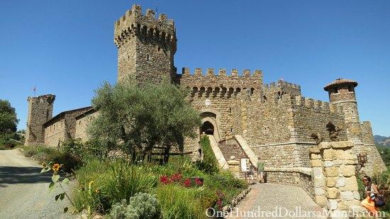 Napa Wine Tasting Castle