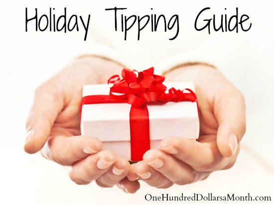 Holiday Tipping Guide