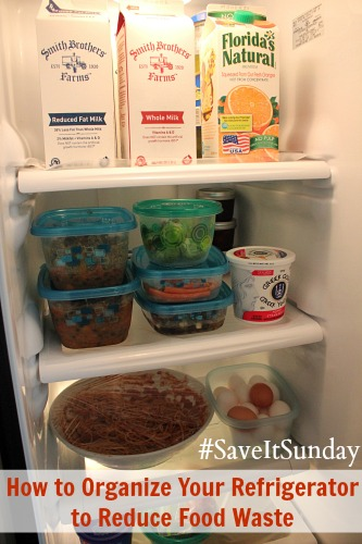 How to Organize Your Refrigerator to Reduce Food Waste