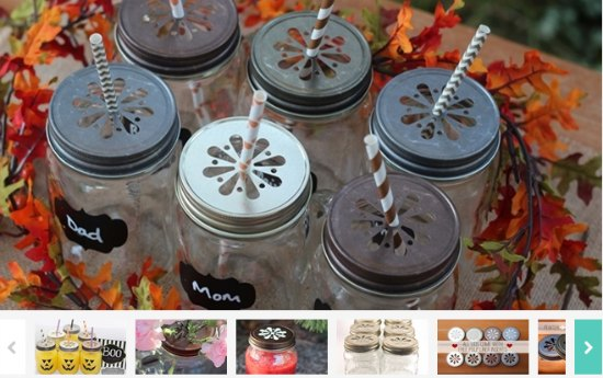 daisy cut out lids