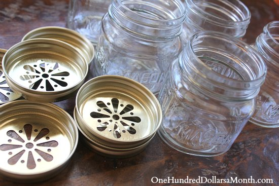 daisy lids for mason jars