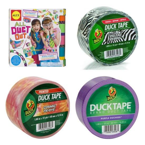 duck tape pattern prints
