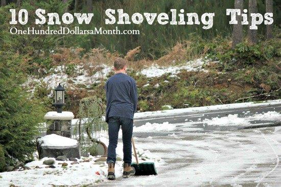 10 Snow Shoveling Tips