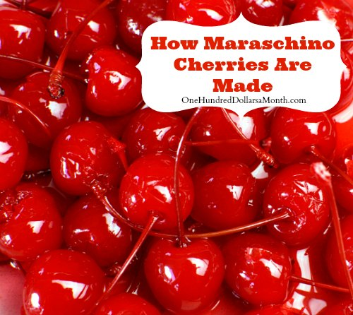 How Maraschino Cherries Are Made