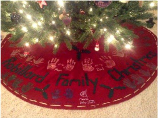 Christmas tree skirt craftsy