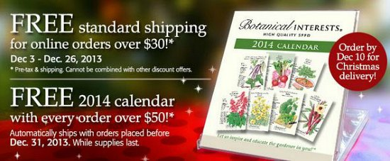 botanical interests coupons