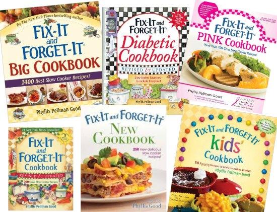 fix it and forget it cookbooks