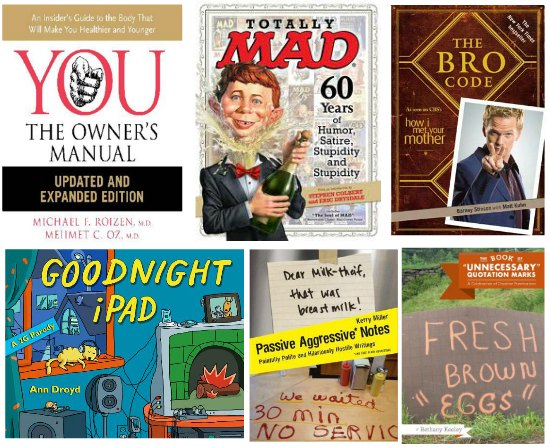 funny  books to give