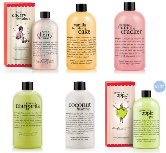 philosophy shower bath shampoo Gels