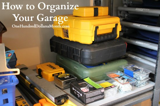How to Organize Your Garage