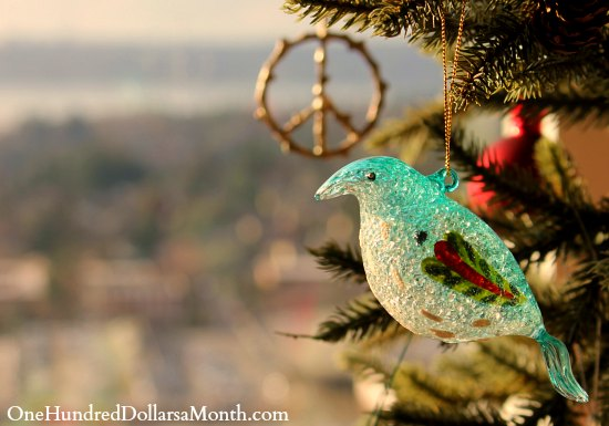 bird christmas  ornament  (2)