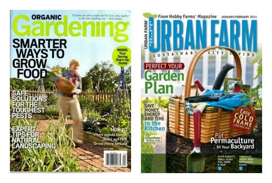 garden magazines