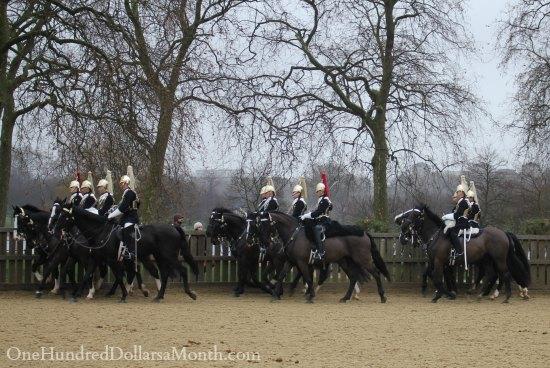 Queen Elizabeth horses london