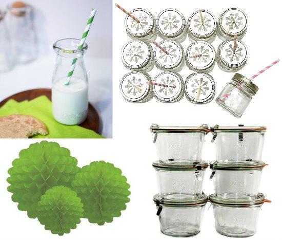 Untweck canning jars glass milk bottles